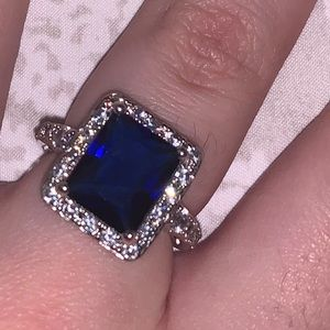 Blue Saphire Ring
